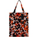 Camouflage Texture Patterns Zipper Classic Tote Bag View1