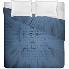 Zoom Digital Background Duvet Cover Double Side (king Size)