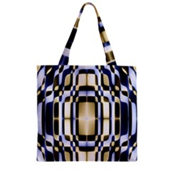 Colorful Seamless Pattern Vibrant Pattern Zipper Grocery Tote Bag