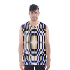 Colorful Seamless Pattern Vibrant Pattern Men s Basketball Tank Top