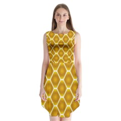 Snake Abstract Background Pattern Sleeveless Chiffon Dress   by Simbadda
