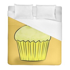 Cake Bread Pie Cerry Duvet Cover (full/ Double Size) by Alisyart
