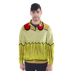 Cake Bread Pie Cerry Wind Breaker (men)