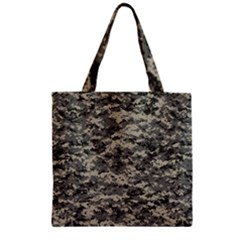 Us Army Digital Camouflage Pattern Zipper Grocery Tote Bag