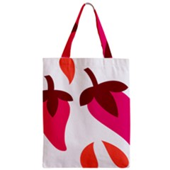 Chili Zipper Classic Tote Bag