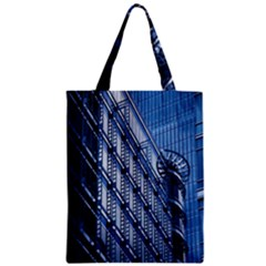 Building Architectural Background Zipper Classic Tote Bag by Simbadda