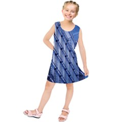Building Architectural Background Kids  Tunic Dress