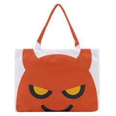 Devil Medium Zipper Tote Bag by Alisyart