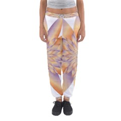 Chromatic Flower Gold Star Floral Women s Jogger Sweatpants by Alisyart