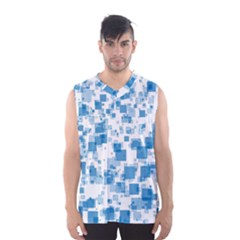 Pattern Men s Basketball Tank Top by Valentinaart