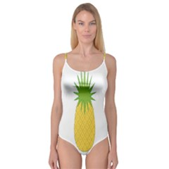 Fruit Pineapple Yellow Green Camisole Leotard  by Alisyart