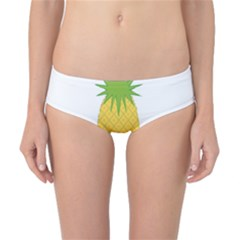 Fruit Pineapple Yellow Green Classic Bikini Bottoms