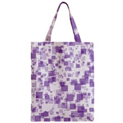Pattern Zipper Classic Tote Bag by Valentinaart