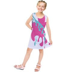 Full Butterfly Kids  Tunic Dress by Alisyart