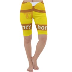 Honet Bee Sweet Yellow Cropped Leggings