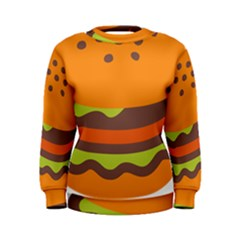 Hamburger Women s Sweatshirt by Alisyart