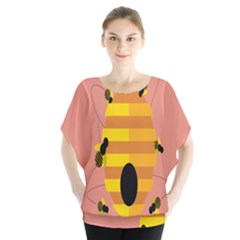 Honeycomb Wasp Blouse