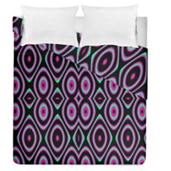 Colorful Seamless Pattern Vibrant Pattern Duvet Cover Double Side (queen Size) by Simbadda