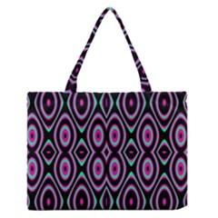 Colorful Seamless Pattern Vibrant Pattern Medium Zipper Tote Bag by Simbadda