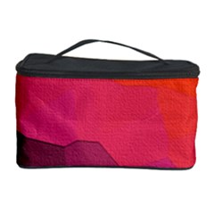 Abstract Elegant Background Pattern Cosmetic Storage Case by Simbadda