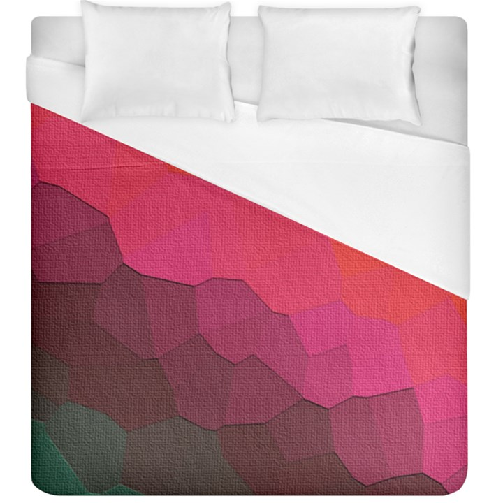 Abstract Elegant Background Pattern Duvet Cover (King Size)