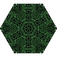 An Overly Large Geometric Representation Of A Circuit Board Mini Folding Umbrellas by Simbadda