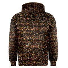 Pixel Pattern Colorful And Glowing Pixelated Men s Pullover Hoodie
