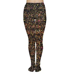 Pixel Pattern Colorful And Glowing Pixelated Women s Tights