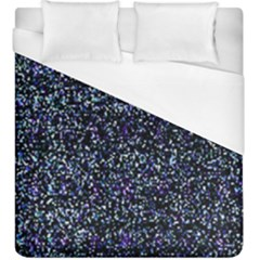 Pixel Colorful And Glowing Pixelated Pattern Duvet Cover (king Size)