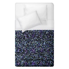 Pixel Colorful And Glowing Pixelated Pattern Duvet Cover (single Size) by Simbadda