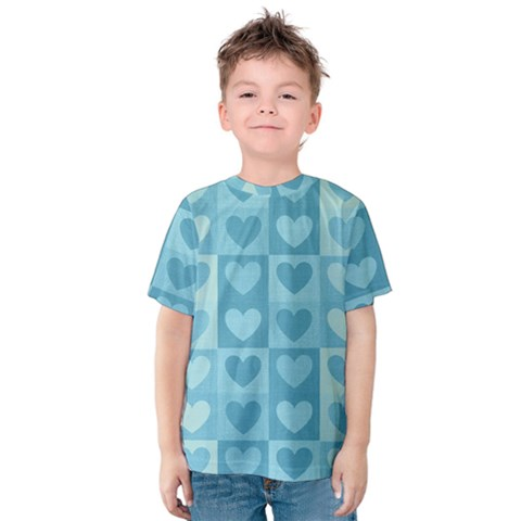 Pattern Kids  Cotton Tee by Valentinaart