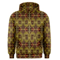 Seamless Symmetry Pattern Men s Pullover Hoodie