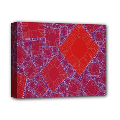 Voronoi Diagram Deluxe Canvas 14  X 11