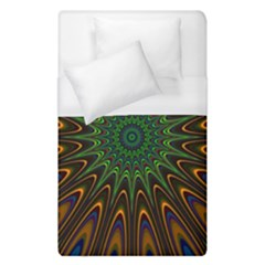 Vibrant Colorful Abstract Pattern Seamless Duvet Cover (single Size)