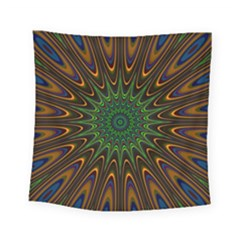 Vibrant Colorful Abstract Pattern Seamless Square Tapestry (small) by Simbadda