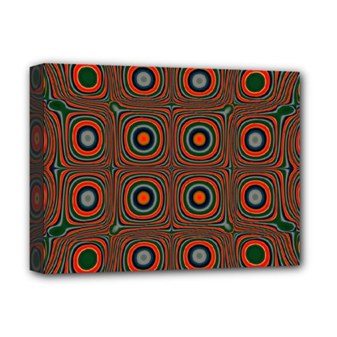 Vibrant Pattern Seamless Colorful Deluxe Canvas 16  X 12   by Simbadda