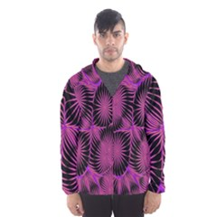 Self Similarity And Fractals Hooded Wind Breaker (men) by Simbadda