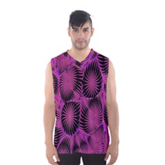Self Similarity And Fractals Men s Basketball Tank Top