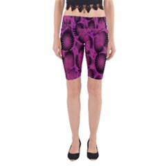Self Similarity And Fractals Yoga Cropped Leggings