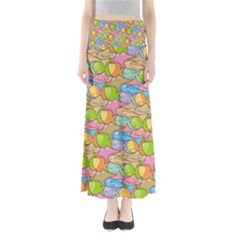 Fishes Cartoon Maxi Skirts by sifis