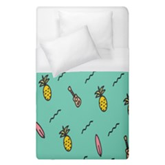 Guitar Pineapple Duvet Cover (single Size) by Alisyart
