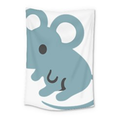 Mouse Small Tapestry by Alisyart