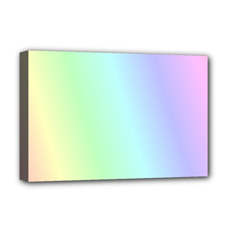 Multi Color Pastel Background Deluxe Canvas 18  X 12   by Simbadda