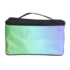Multi Color Pastel Background Cosmetic Storage Case