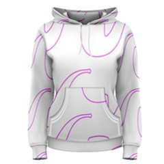 Pipe Template Cigarette Holder Pink Women s Pullover Hoodie