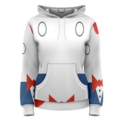 Peppermint Butler Wallpaper Face Women s Pullover Hoodie