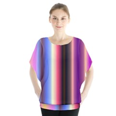 Multi Color Vertical Background Blouse by Simbadda