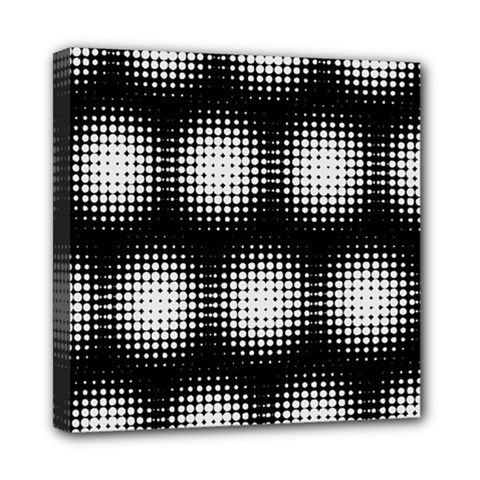 Black And White Modern Wallpaper Mini Canvas 8  X 8  by Simbadda