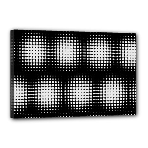 Black And White Modern Wallpaper Canvas 18  X 12