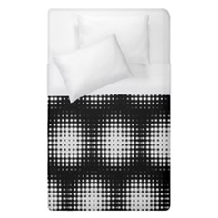Black And White Modern Wallpaper Duvet Cover (single Size) by Simbadda